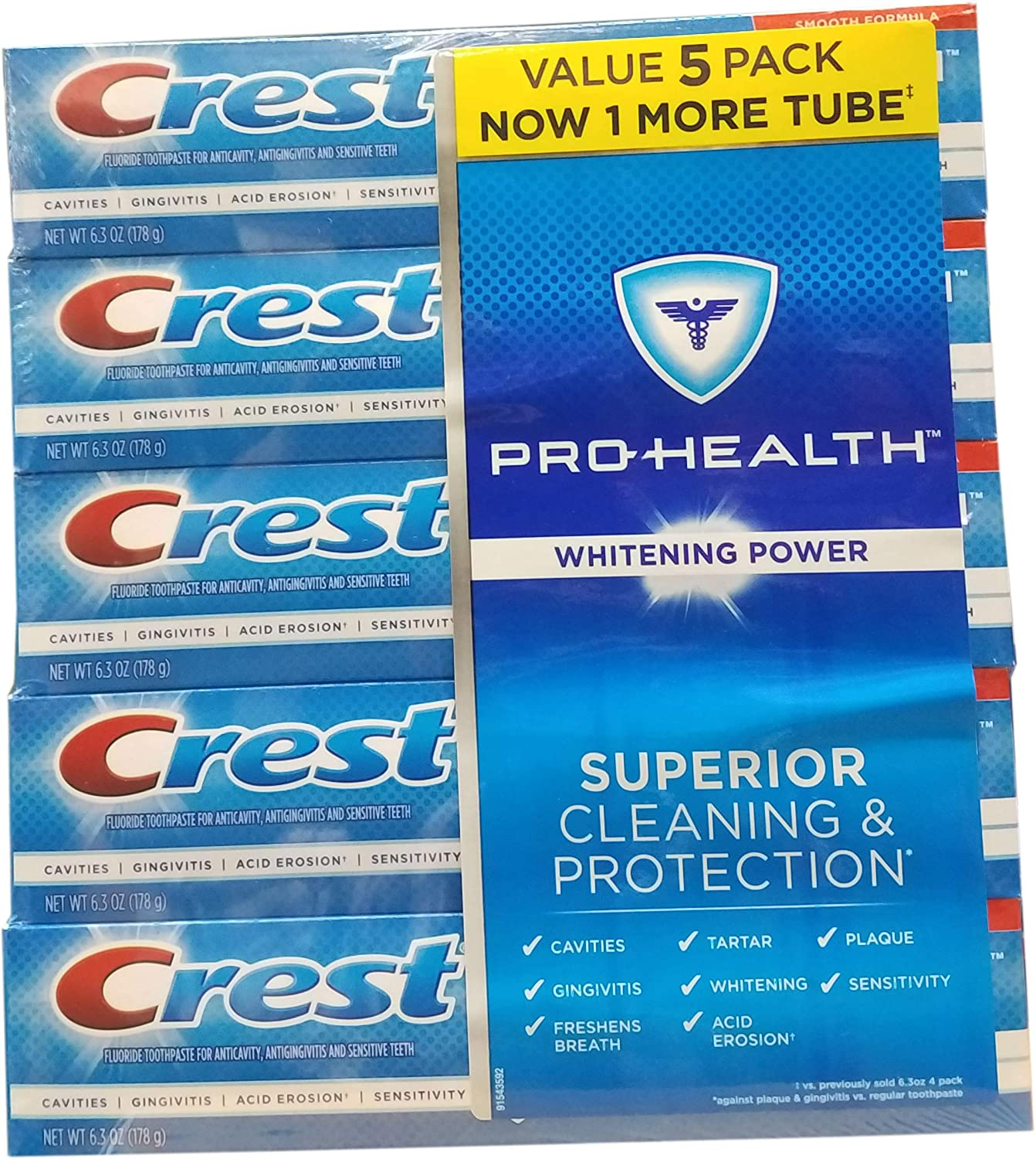 Crest Prohealth Whitening Paste, 31.5 Ounce