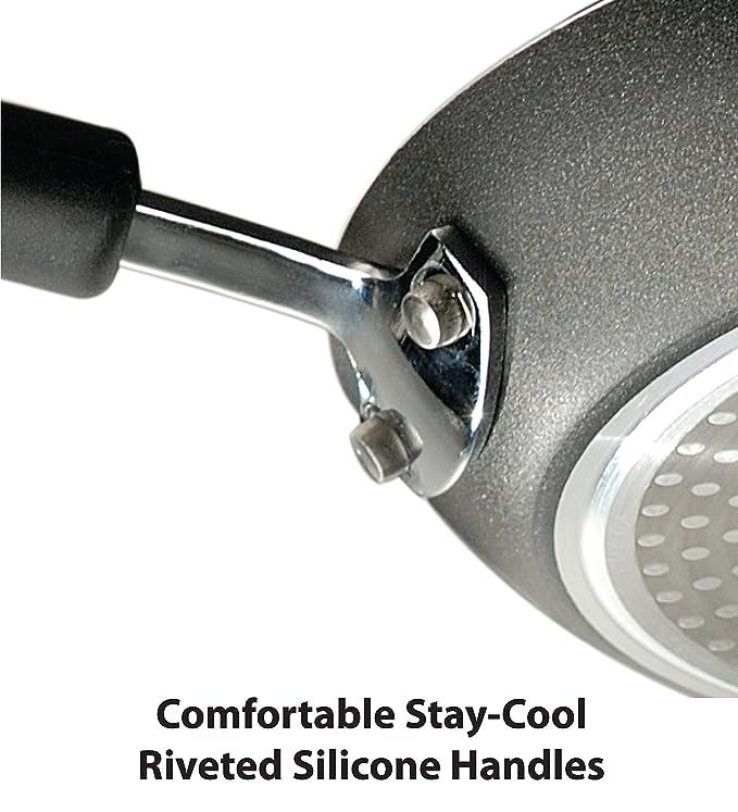 Tefal E9380864 - Cacerola (Single pan, Negro, 177 °C, Aluminio, Thermo-Spot): Amazon.es: Hogar