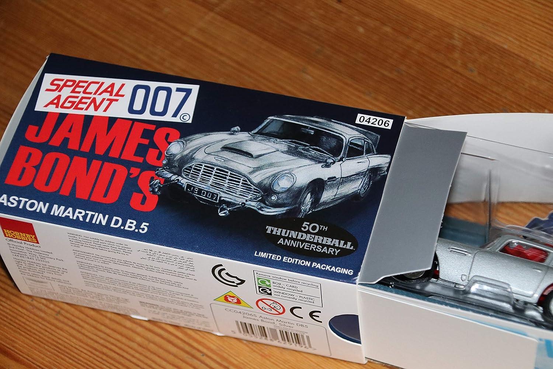 James Bond Maßstab 1 43 Silber Corgi Cc04206s Aston Martin Db5 Vorgefertigte Druckgussmodelle Modellbau