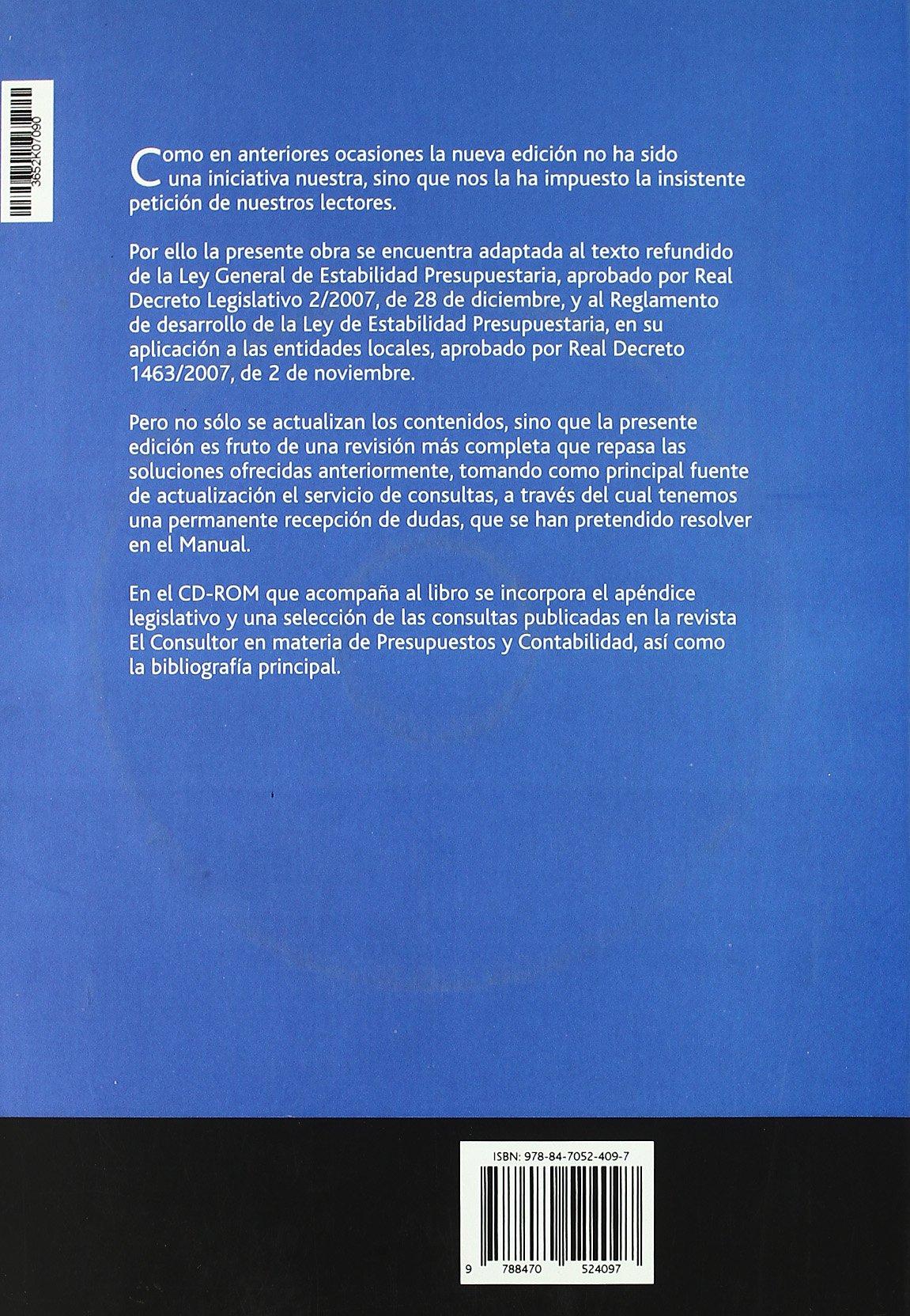 COMPRAR LIBRO MANUAL DE PRESUPUESTO Y CONTABILIDAD EN AMAZON