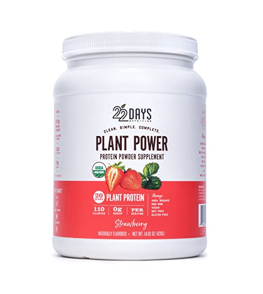 22 Days Nutrition plant power protein