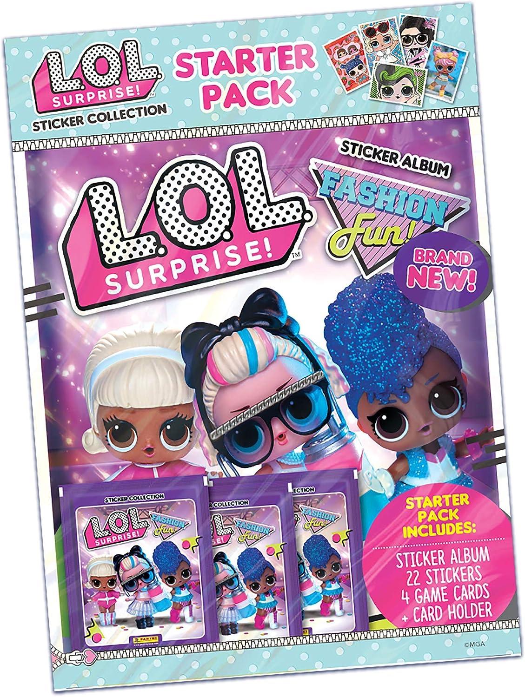 LOL Surprise Fashion Fun Sticker Collection Paquete de iniciación: Amazon.es: Juguetes y juegos