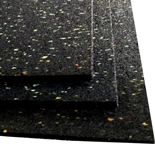 Granulat   15 Stück  in 6mm // 100mm // 100mm Pads Antirutschmatte Regupol
