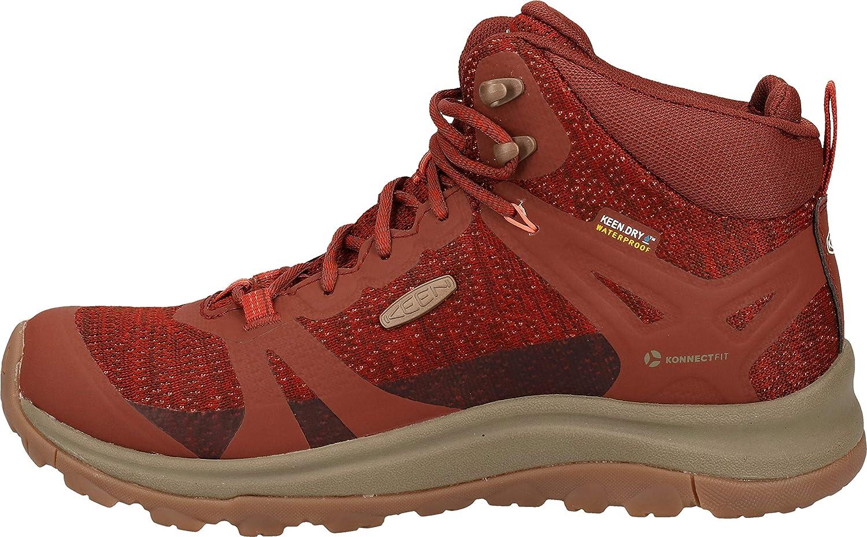 KEEN Womens Trail Trekking Shoes Grey