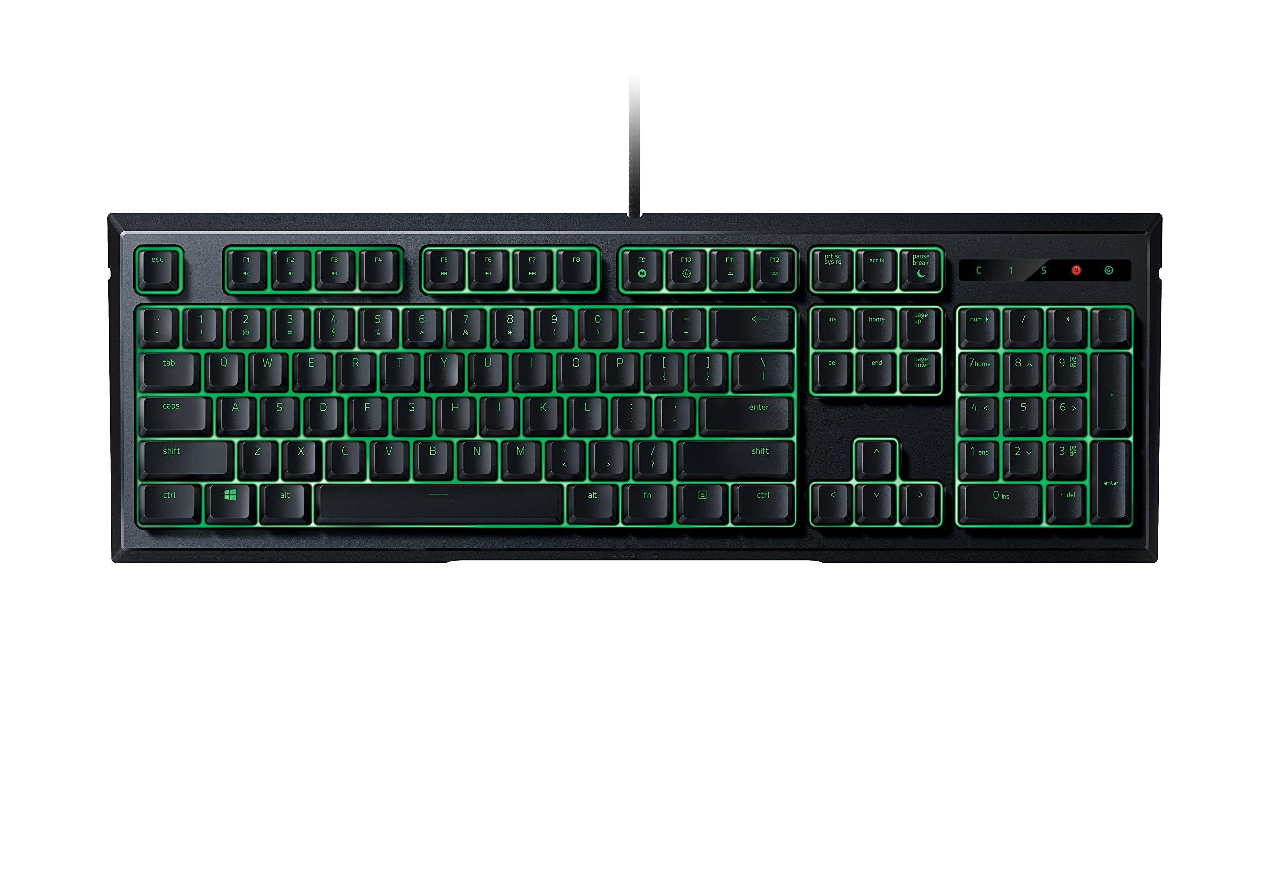 Razer Ornata Expert – Revolutionary Mecha-Membrane Gaming Keyboard with Mid-Height Keycaps - Wrist Rest - Ergonomic Design