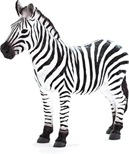MOJO Zebra Realistic International Wildlife Hand Painted Toy Figurine