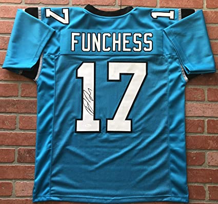 brand new e3696 65e7c Devin Funchess autographed signed jersey NFL Carolina ...