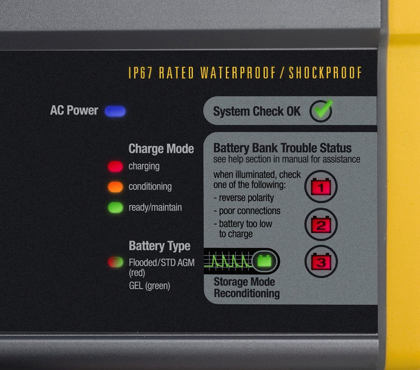 33274 ProMariner ProSport 6 Gen 3 6 AMP 1 Bank HD Charger