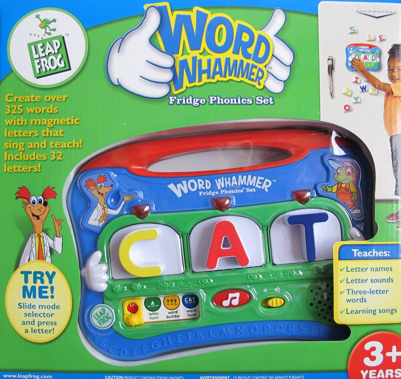 Amazon Leap Frog Word Whammer Fridge Phonics Set W Lights
