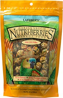 product image for LAFEBER'S Garden Veggie Nutri-Berries Pet Bird Food, Made with Non-GMO and Human-Grade Ingredients, for Parrots