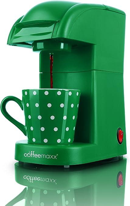 TV Unser Original 9547 - Cafetera de cápsulas, color verde: Amazon.es: Hogar