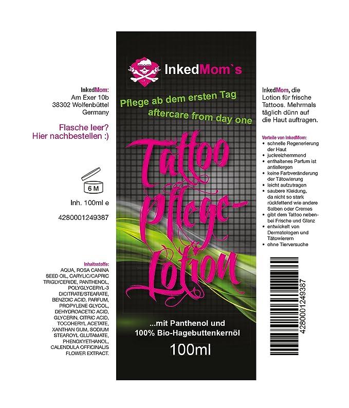 inke dmom 100 ml Tattoo de cuidado Loción Crema | más rápida ...