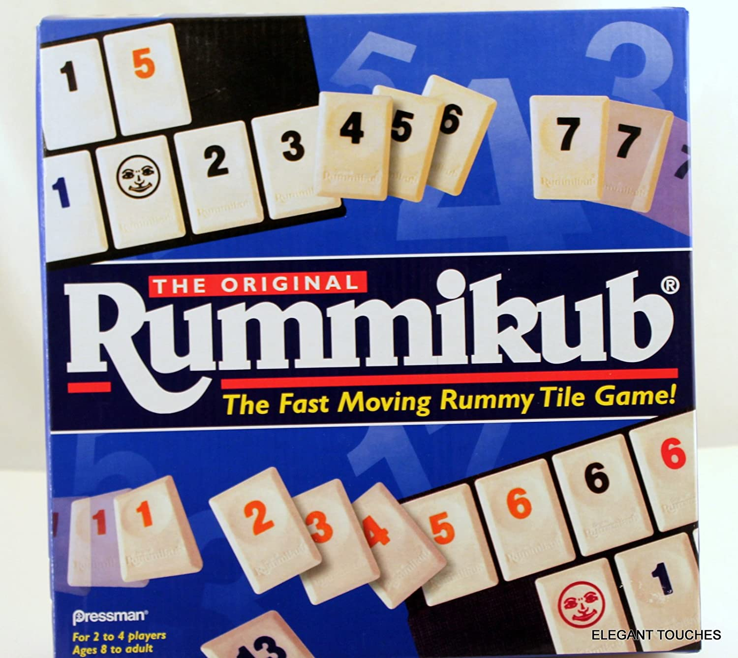The Original Rummikub - Fast Moving Rummy Tile Game by PRESSMAN ...
