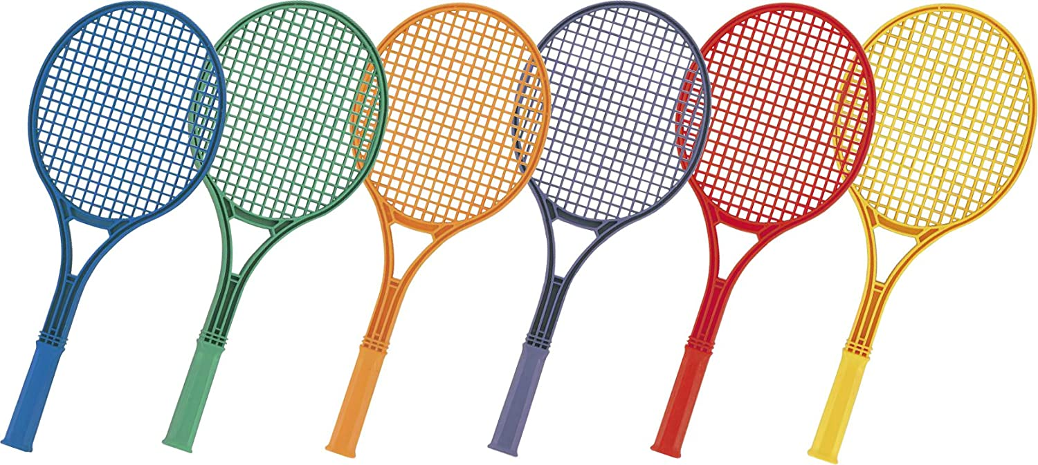 Champion Sports 21-Inch Plastic Tennis Racquet Set: Toys & Games