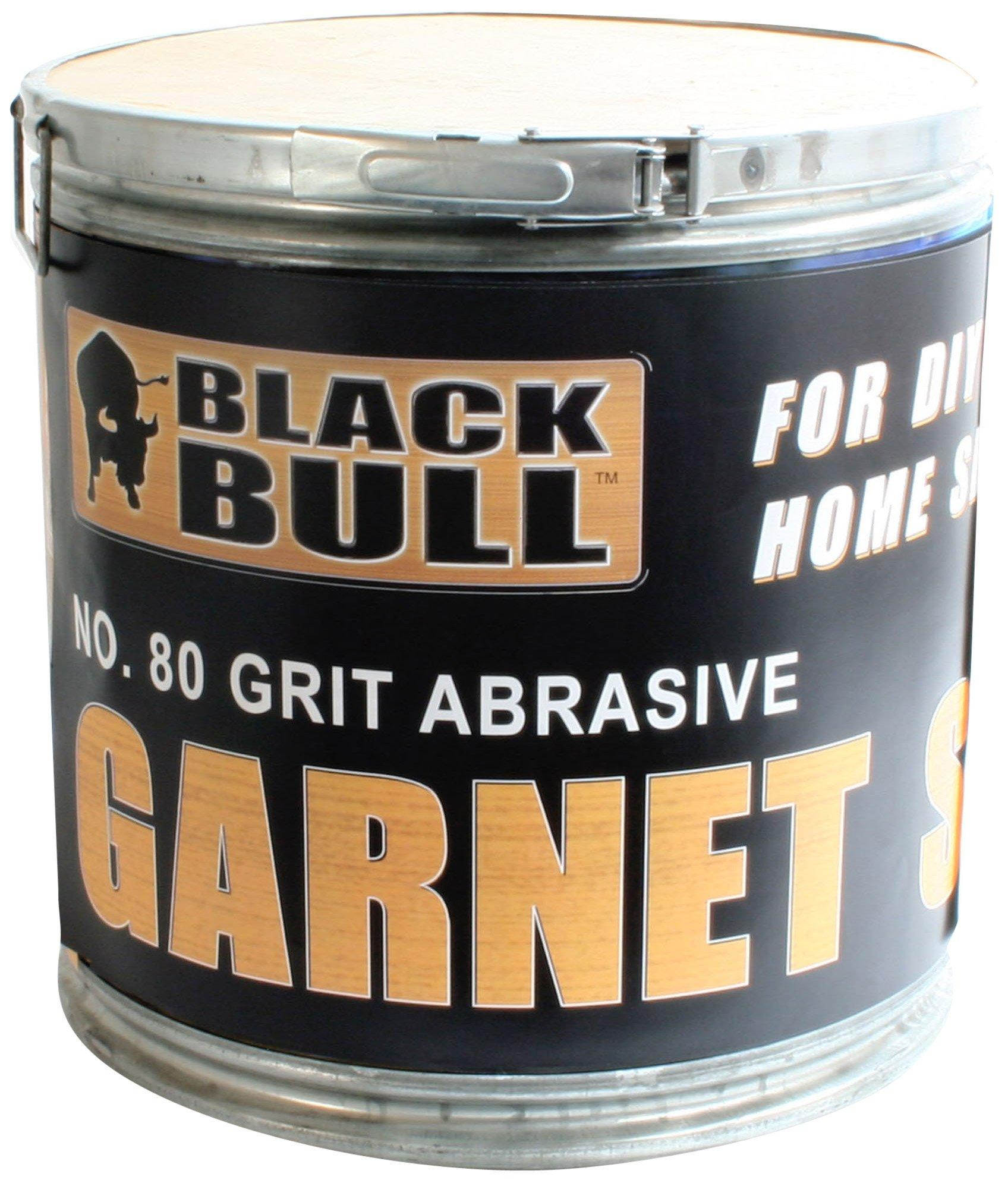 Black Bull SBGARN 80 Grit Garnet Sand by Black Bull