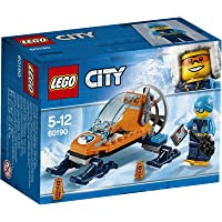 LEGO 60190 City Artic Expedition Ice Glider Playset, Toy Explorer Vehicles, Winter Adventure Building Sets for Kids