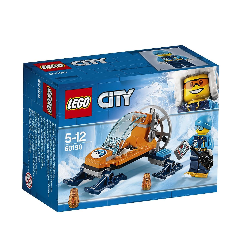 LEGO City - L'aéroglisseur arctique - 60190 - Jeu de Construction