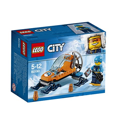 6e41d8f2aa53 LEGO 60190 City Artic Expedition Ice Glider Playset