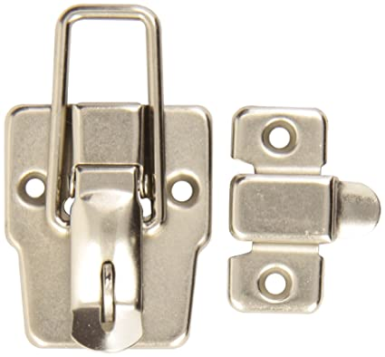 JR Products 20505 Sliding Door Privacy Latch Brown