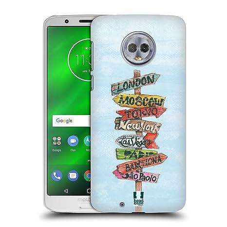 Head Case Designs Carrefour Nomade Étui Coque DArrière Rigide pour Motorola Moto G6