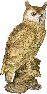Design Toscano Perching Forest Owl Statue, Multicolored