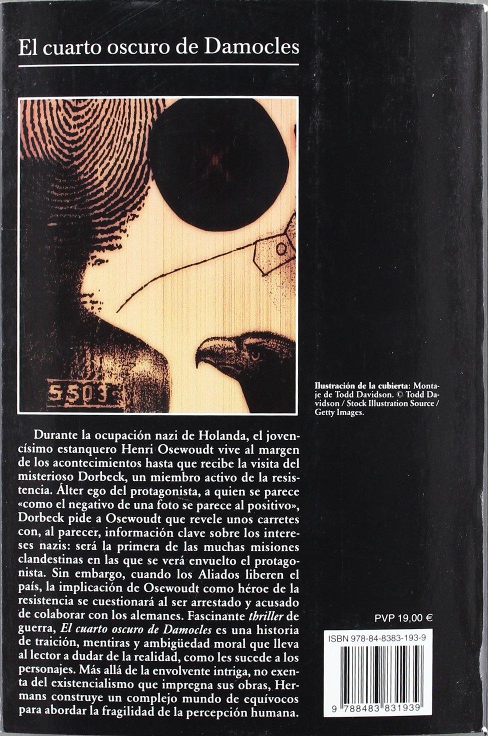 El cuarto oscuro de Damocles (Spanish Edition) (Coleccion Andanzas ...