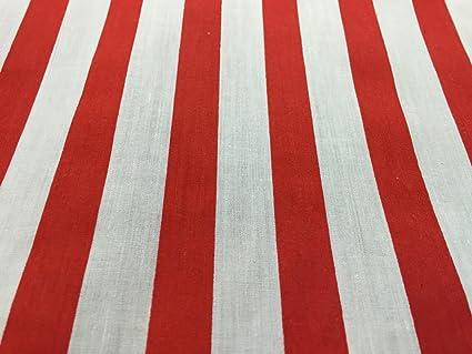 ¿PRESTIGE telas gruesas rayas rojas y blancas de algodón donde esta Wally?