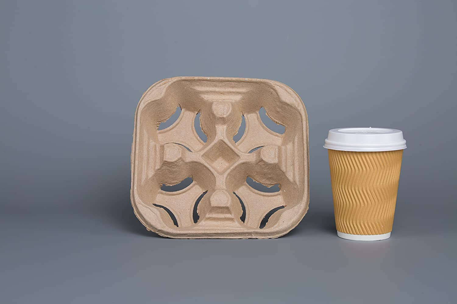 Fast Food Paper Cup Holder Tray For Coffee Cups Buy Fast
