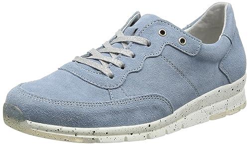 Tabea 18, Zapatos de Cordones Brogue para Mujer, Azul (Blau), 37 EU Romika