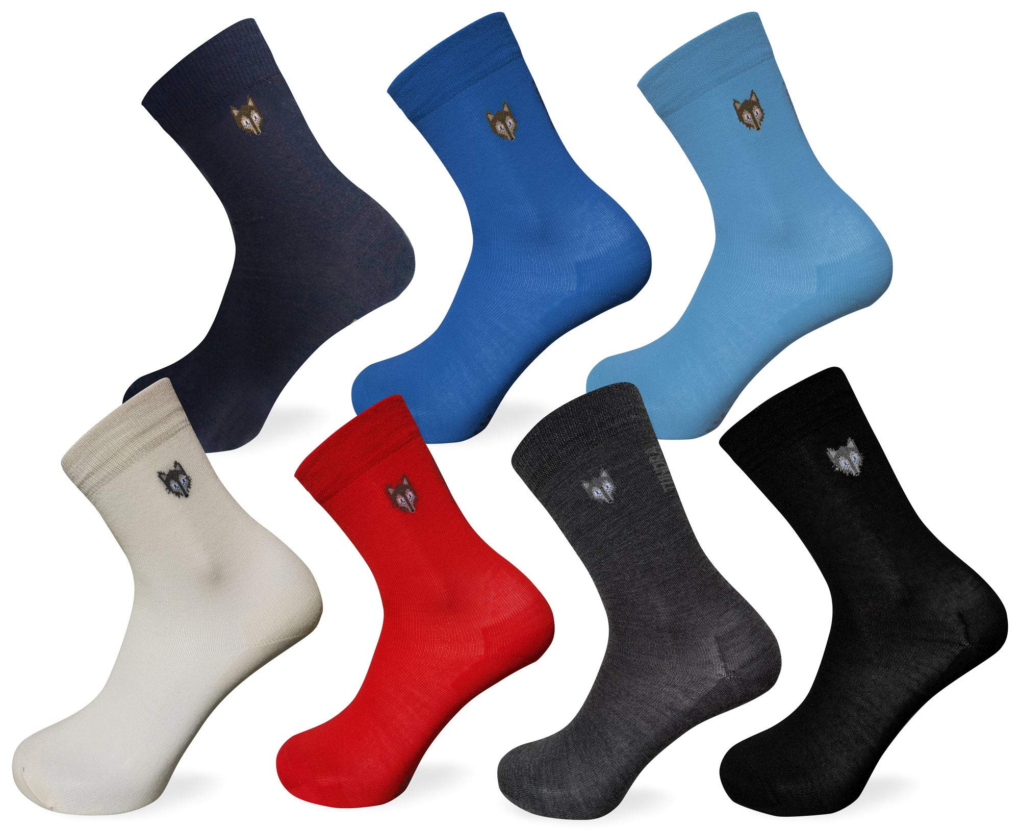 Tundra wolf 80% wool socks 3-pack - thin & extremely warm thermal socks by Team Magnus