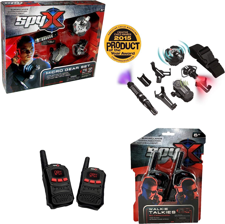 SpyX / Micro Gear Set + Walkie Talkies - Adjustable Belt