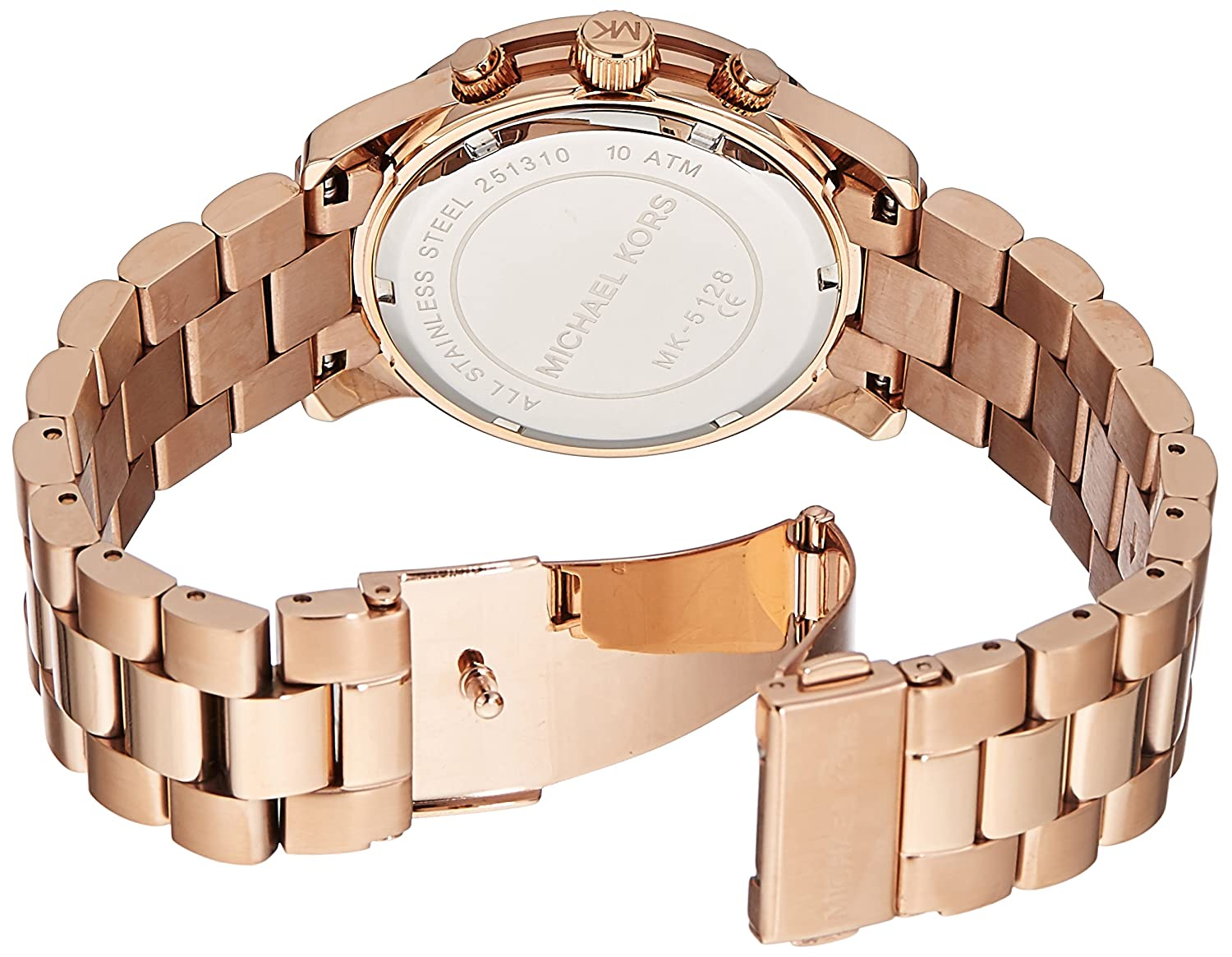 1ce18b747a91 Amazon.com  Michael Kors Women s Runway Rose Gold-Tone Watch MK5128  Michael  Kors  Watches