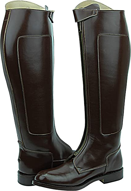 Amazon.com: Hispar Mens Man Invader-1 Polo Players Boots Tall Knee High  Leather Equestrian Brown: Sports & Outdoors