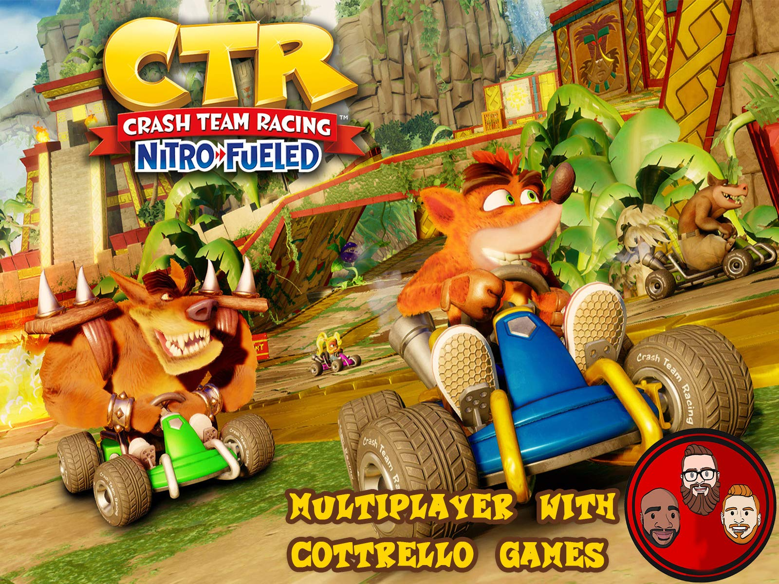 Crash Team Racing Nitro-Fueled Multiplayer with Cottrello Games
