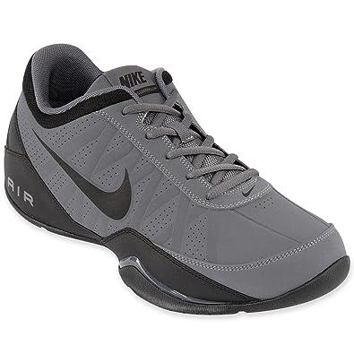 b37f00103d7504 Nike Men s Air Ring Leader Low Basketball Shoe Dark Grey   Black 7 D(M) US   Amazon.in  Shoes   Handbags