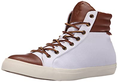 Mens Polo Ralph Lauren Geffron Sneakers Pure White/Polo Tan GVL31808