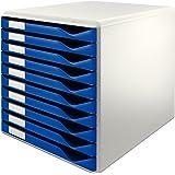 Leitz Formular-Set Leitz Blau 10 Schubladen