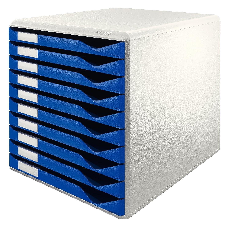 Leitz Formular-Set Leitz Blau 10 Schubladen Esselte Leitz 52810035