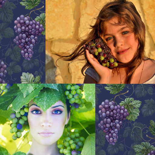 Grapes Photo Collage (Grape Energy)