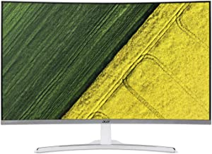 Acer ED322Q wmidx 31.5-inch Curved Full HD (1920 x 1080) Display (HDMI, DVI & VGA Ports),White