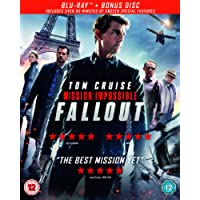 Mission: Impossible - Fallout (Blu-ray + Bonus Disc) [2018] [Region Free]