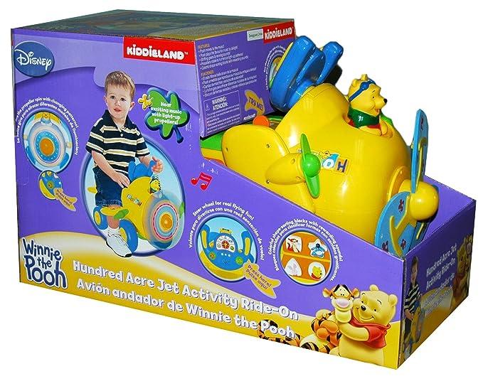 Kiddieland Correpasillos Avion Winnie: Amazon.es: Juguetes y juegos