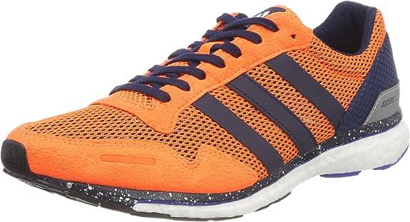 Adidas Adizero Adios m, Zapatillas de Trail Running para Hombre, Naranja (Naalre/Maruni/Azalre 000), 48 EU: Amazon.es: Zapatos y complementos