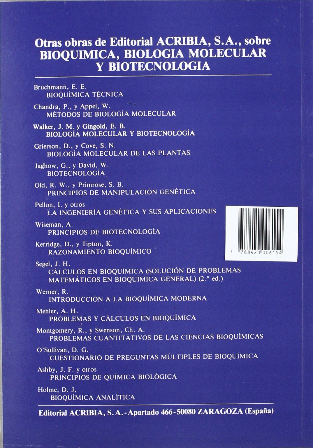 Fundamentos de biología molecular: Amazon.es: Freifelder, D ...