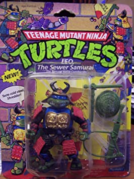 1990 Leo The Sewer Samurai Disguise Teenage Mutant Ninja ...