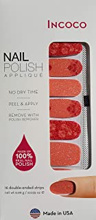 product image for Incoco Nail Polish Applique Strips - Coral Oasis