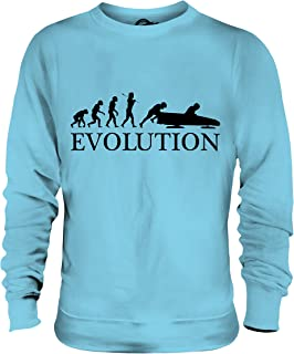 Candymix - Bobsleigh Evolution of Man - Unisex Sweatshirt Mens Ladies Sweater Jumper Top