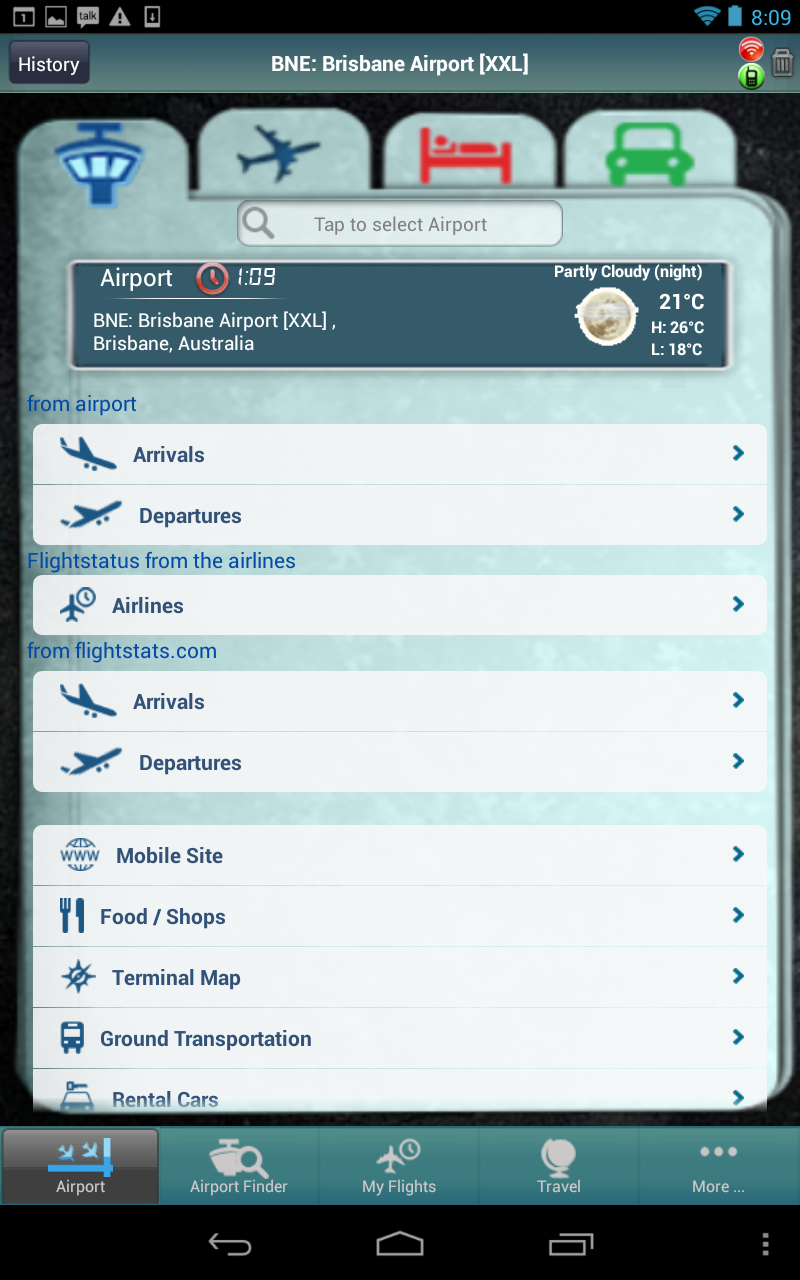 Amazon Com Brisbane Airport Flight Tracker Appstore For Android