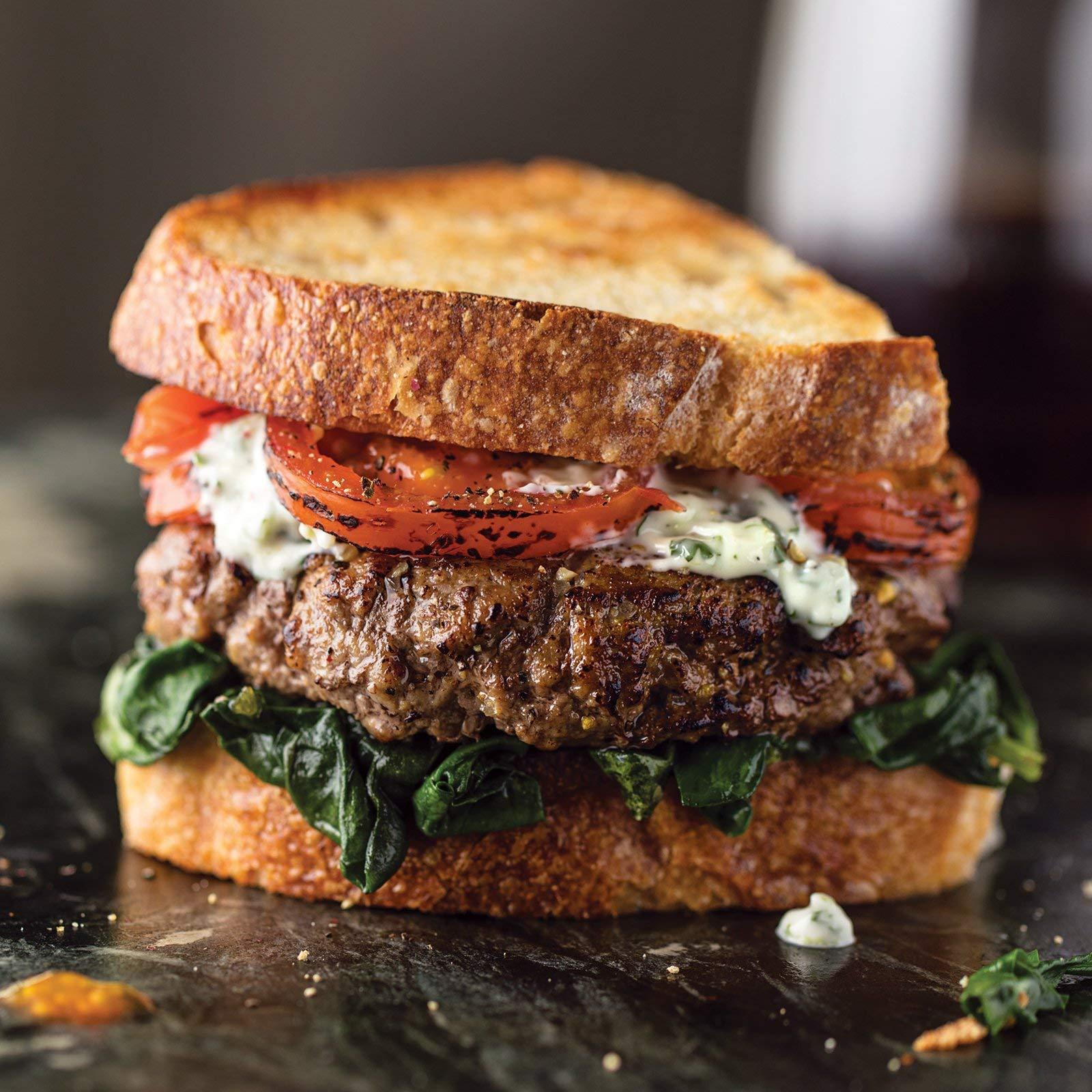 Omaha Steaks 4 (5.3 oz.) Delmonico Burgers