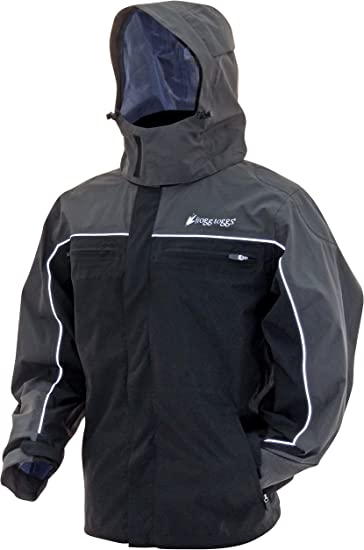 Frogg Toggs Pilot II Cruiser Rain Jacket Compatible w// Frogg Toggs Co-Pilot Puff Jacket /& Vest Liners